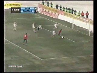 ЦСКА - спартак Суперкубок России 2008 Финал Юрий Жирков